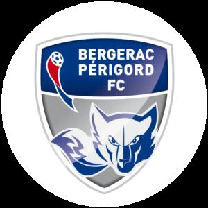 logo de l'équipe de foot de Bergerac Périgord FC