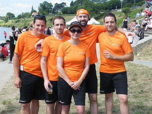 Aviron Challenge Entreprise 2016