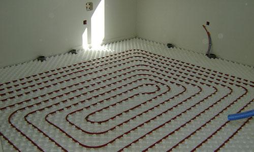 photo d'un chauffage au sol.