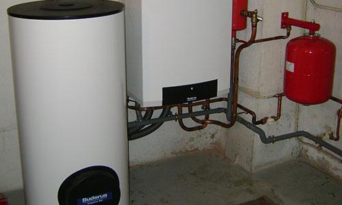 photo d'un système de chauffage thermodynamique.