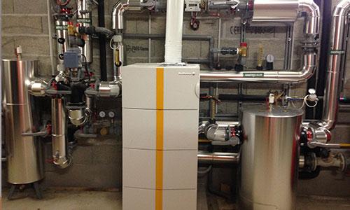 photo d'un système de chauffage.