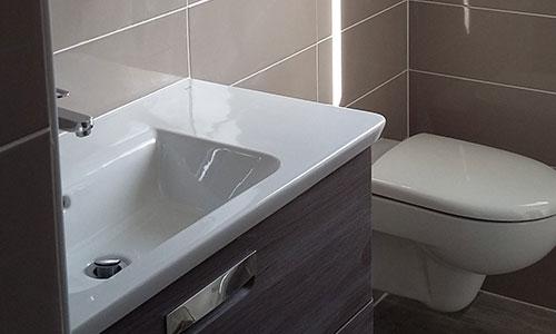 photo d'une salle de bain.
