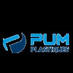 logo de l'entreprise PUM PLASTIQUE.