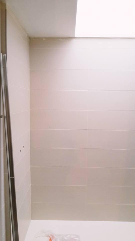 Photo rénovation d'une salle de bain à Bergerac en 2018.